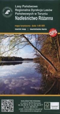Nadleśnictwo Różanna Mapa turystyczna - okładka książki