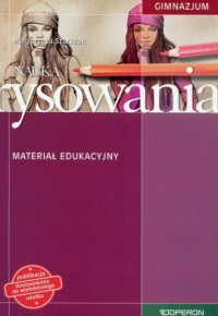 Nauka rysowania. Gimnazjum. Materiał edukacyjny - okładka podręcznika
