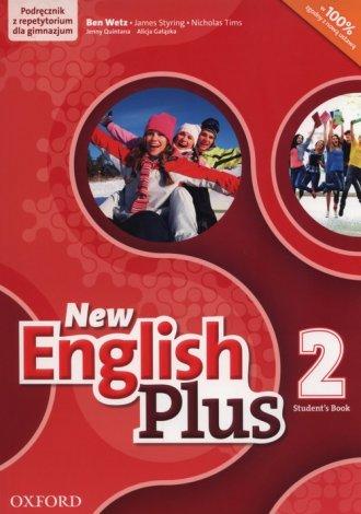 New English Plus 2. Gimnazjum. - okładka podręcznika