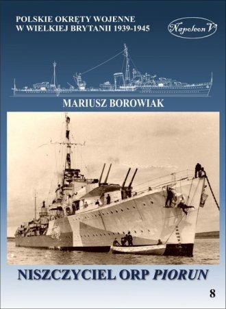 Niszczyciel ORP Piorun - okładka książki