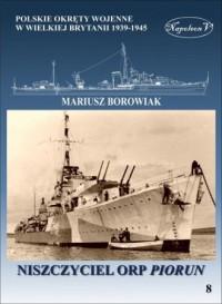 Niszczyciel ORP Piorun - Mariusz - okładka książki