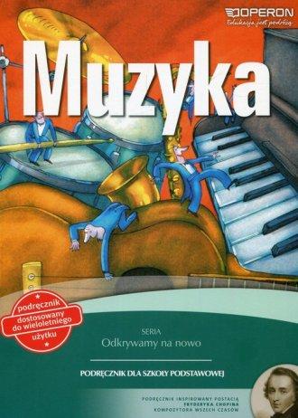 Odkrywamy na nowo Muzyka 4-6. Szkoła - okładka podręcznika