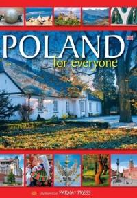 Poland for everyone. Wersja angielska - okładka książki