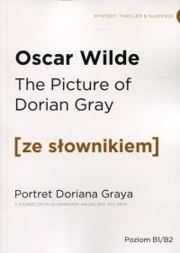 Portret Doriana Graya z podręcznym - okładka książki