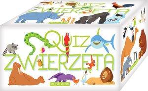 Quiz  Zwierzęta - okładka książki