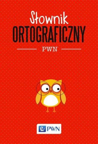 Słownik ortograficzny PWN - okładka książki