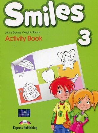 Smiles 3 Activity Book. Szkoła - okładka podręcznika