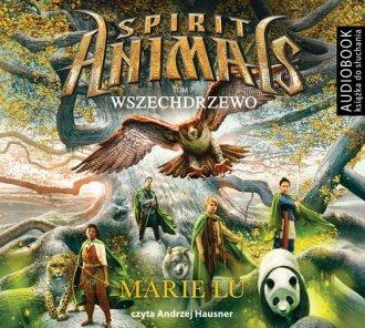 Spirit Animals. Tom 7. Wszechdrzewo - pudełko audiobooku