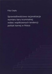 Sprawiedliwościowa racjonalizacja - okładka książki