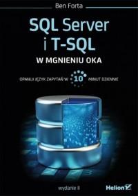 SQL Server i T-SQL w mgnieniu oka - okładka książki