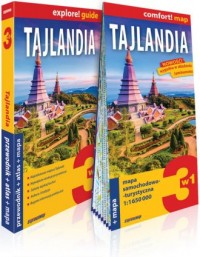 Tajlandia explore! guide. 3w1: - okładka książki