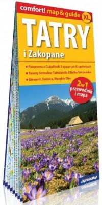 Tatry i Zakopane 2w1. Przewodnik - okładka książki