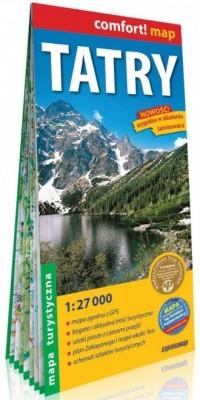Tatry Mapa turystyczna 1:27 000 - okładka książki