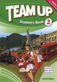 Team Up 2. Szkoła podstawowa. Podręcznik (+ CD) - okładka podręcznika
