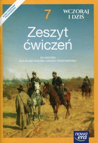 Wczoraj i dziś 7. Historia i społeczeństwo. - okładka podręcznika