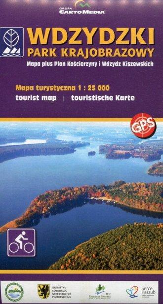 Wdzydzki Park Krajobrazowy mapa - okładka książki
