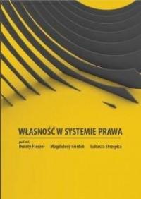 Własność w systemie prawa - okładka książki