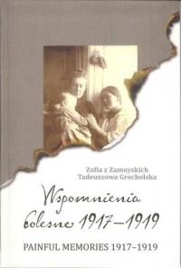 Wspomnienia bolesne 1917-1919 / Painful memories 1917-1919 - okładka książki