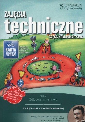 Zajęcia techniczne. Szkoła podstawowa. - okładka podręcznika