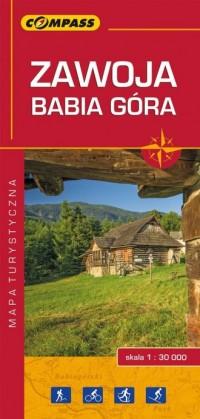 Zawoja, Babia Góra 1:30 000 - Wydawnictwo - okładka książki