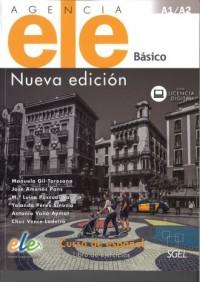 Agencia ELE Basico A1+A2 Ćwiczenia nueva edicion - okładka podręcznika