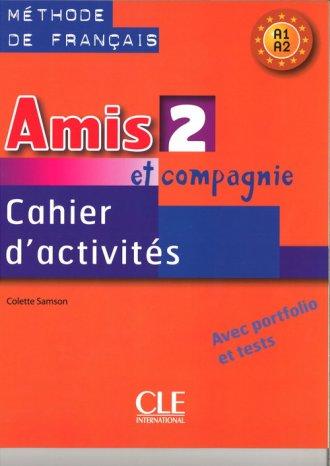 Amis et compagnie 2. Zeszyt ćwiczeń - okładka podręcznika