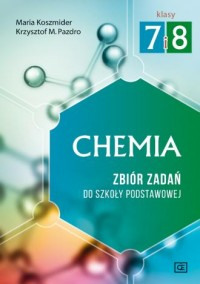 Chemia 7-8. Szkoła podstawowa. Zbiór zadań - okładka podręcznika