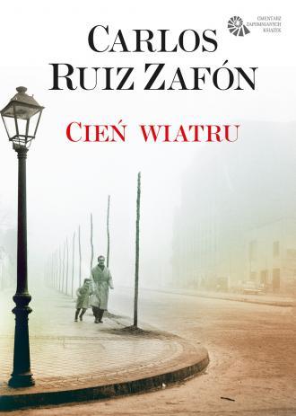 Cień wiatru - okładka książki