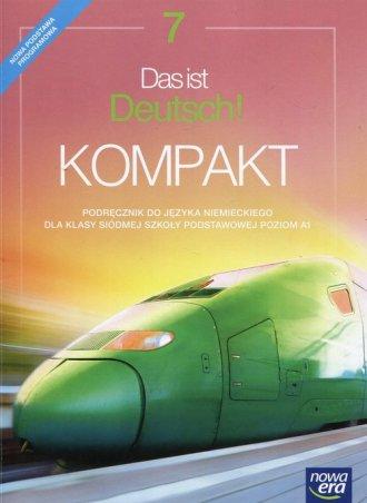 Das ist Deutsch Kompakt 7. Szkoła - okładka podręcznika