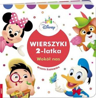 Disney. Wierszyki 2-latka - okładka książki