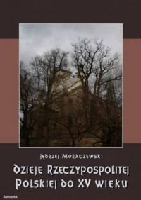 Dzieje Rzeczypospolitej Polskiej do piętnastego wieku - okładka książki