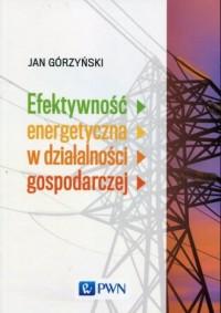 Efektywność energetyczna w działalności gospodarczej - okładka książki