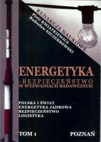 Energetyka w Wyzwaniach Badawczych - okładka książki