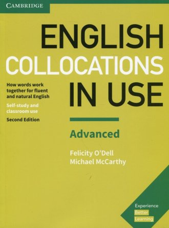 English Collocations in Use Advanced. - okładka podręcznika