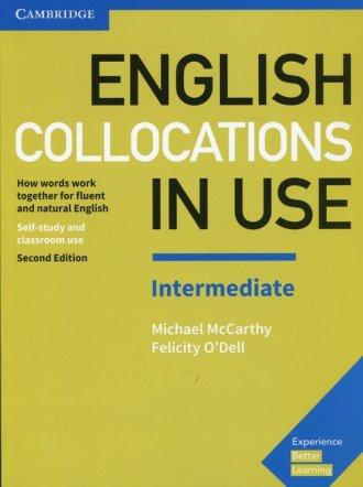 English Collocations in Use Intermediate. - okładka podręcznika