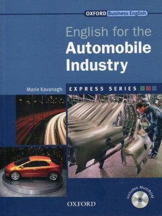 English for the Automobile Industry - okładka podręcznika