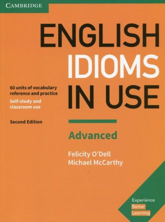 English Idioms in Use Advanced. - okładka podręcznika