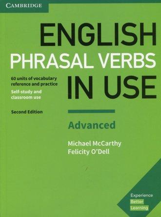 English Phrasal Verbs in Use Advanced. - okładka podręcznika
