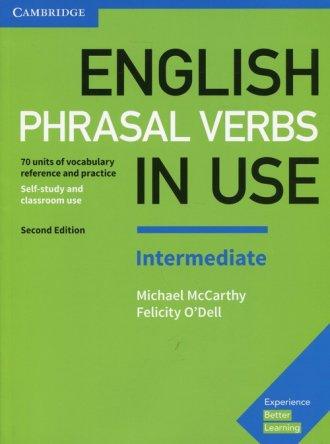 English Phrasal Verbs in Use Intermediate. - okładka podręcznika