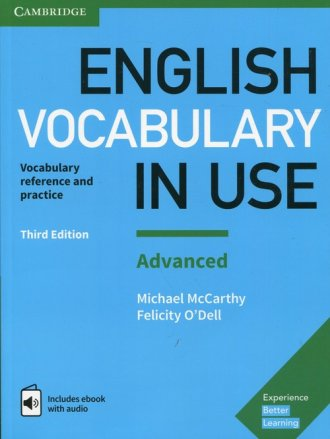 English Vocabulary in Use Advanced. - okładka podręcznika