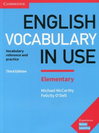 English Vocabulary in Use Elementary - okładka podręcznika