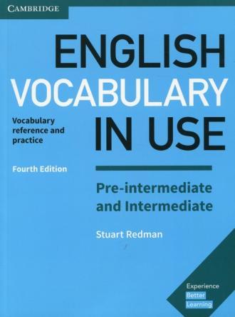 English Vocabulary in Use Pre-intermediate - okładka podręcznika