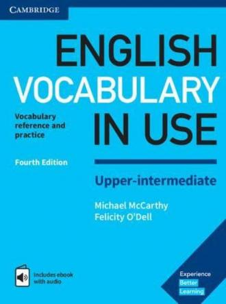 English Vocabulary in Use Upper-intermediate - okładka podręcznika
