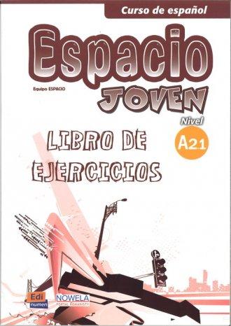 Espacio Joven A2.1 PW Zeszyt ćwiczeń - okładka podręcznika