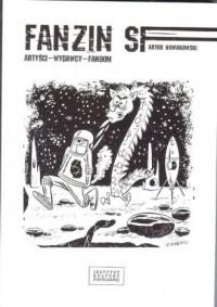 Fanzin SF Artyści wydawcy fandom - okładka książki