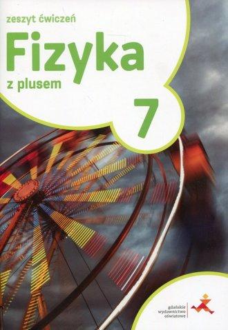 Fizyka z plusem 7. Szkoła podstawowa. - okładka podręcznika