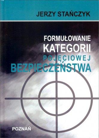 Formułowanie kategorii pojęciowej - okładka książki