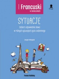 Francuski w tłumaczeniach. Sytuacje - okładka podręcznika