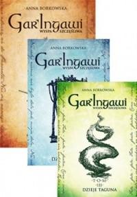 Gar Ingawi Wyspa Szczęśliwa Tom - okładka książki