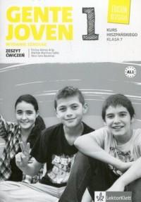 Gente Joven 1 7. Szkoła podstawowa. Zeszyt ćwiczeń - okładka podręcznika
